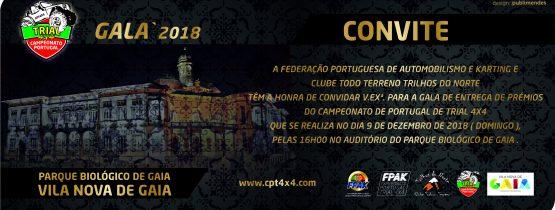 Convite – Gala CPT4x4